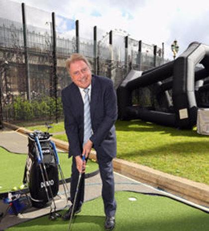 Sports Minister David Evennett