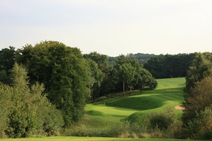 The Harry Colt-influenced 6,683-yard Waterfall Course stands on land where golf has been played since the very early 1900s