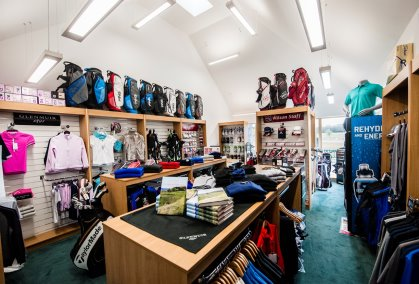The Golf Pro shop at the new Belleisle Golf Clubhouse