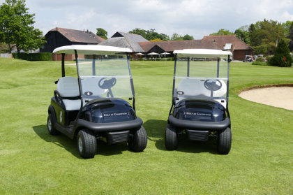 Golf At Goodwood has updated its vehicle fleet with 20 new custom-built Precedent i2 vehicles from Club Car