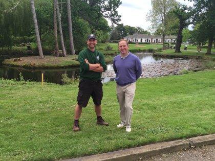 Sam Evans (left) and Greg Evans