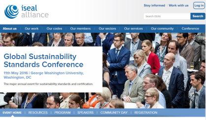 ISEAL Alliance website