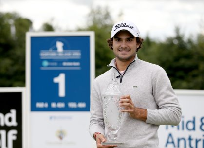 France's Clément Sordet who won the 2015 NI Open at Galgorm Castle with a 17-under-par 267 aggregate (Photo: PressEye)