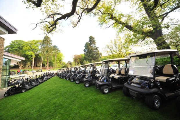 This year's Have a Heart charity golf day at Close House Golf Course featured over 100 Club Car golf and utility vehicles plus 90 event hire buggies and Carryall utility vehicles