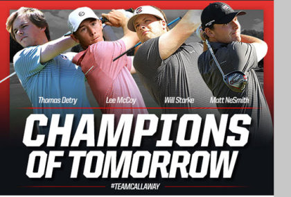 Callaway Champions of tomorrow