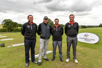 David Leadbetter and the Leadbetter Academy Team at Leeds Golf Centre