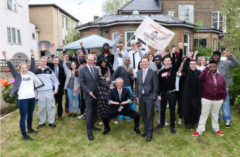 Gary Player's visit to DepaulUK - the London-based charity