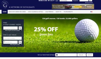 Golfy website