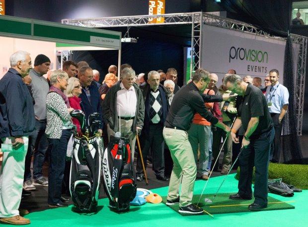 London Golf Show Coaching