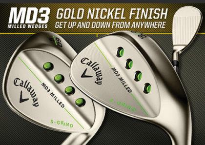 MD3 Gold Nickel Finish