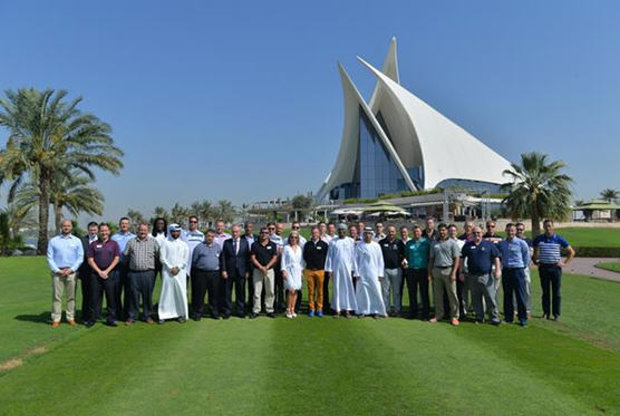 The delegates at the MDP programme at Dubai Creek and Yacht Club