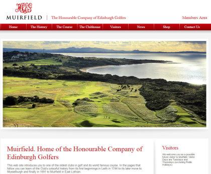 Muirfield website screen grab