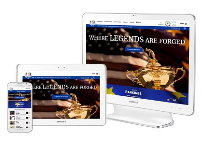 RyderCup website devices