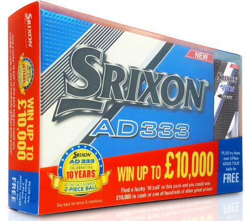 Srixon 10 Year Promo Pack high res