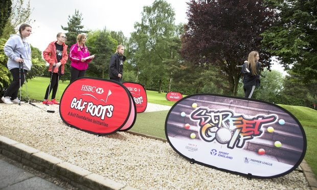 Tee Off With Banners Girls Group copy