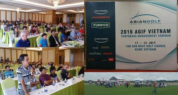 AGIF Vietnam Turfgrass Management Seminar2