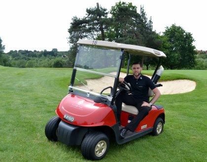 Albert Sinfield, Tudor Park's new Golf Director