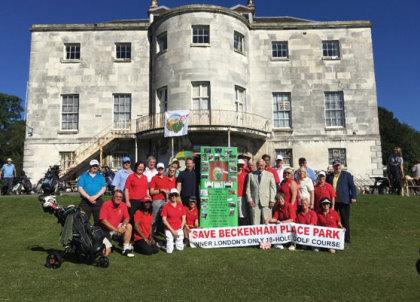 Beckenham Place Park protest