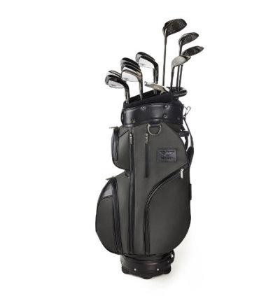Bentley Golf Bag with clubs