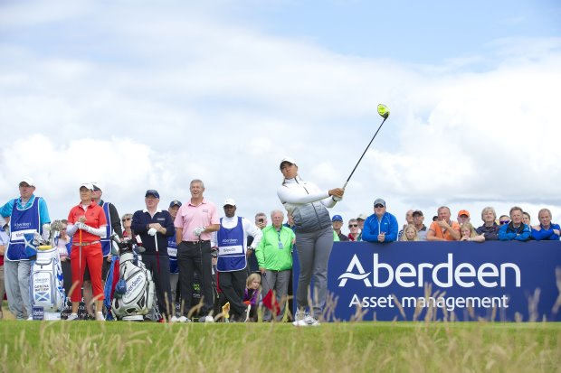 Cheyenne Woods at the 2015 AAM Ladies Scottish Open