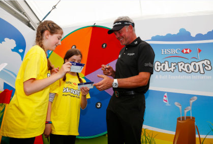 Darren Clarke in the SwingZone