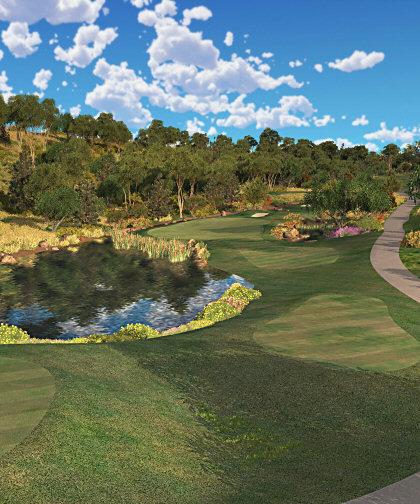 E6Golf screenshot of Aviara Golf Club, San Diego