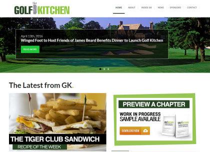 Golf Kitchen website