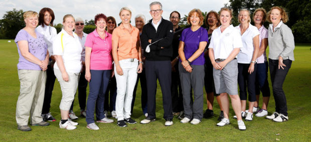 Carin Koch makes surprise visit to love.golf coaching session