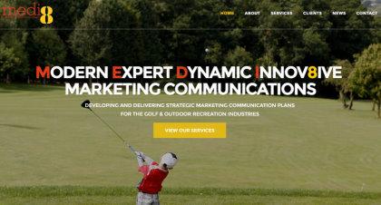 Medi8 website screenshot