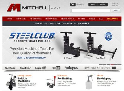 Mitchell Golf website