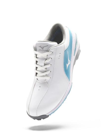 Mizuno Womens_WhiteSax Shoe_4