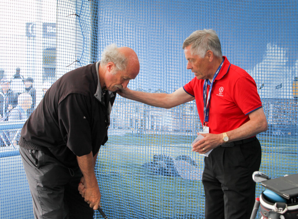 John Mulgrew coaching (courtesy of Adrian Milledge)