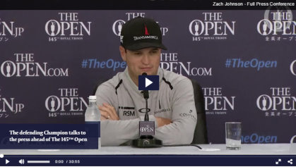 Open Championship video