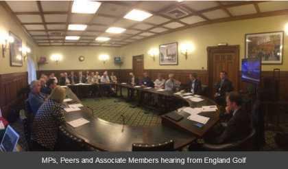 Parliamentary Golf meeting 4 juky 2016