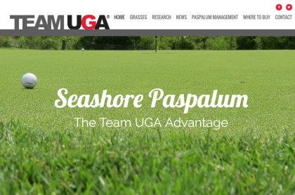 Seashore Paspalum website