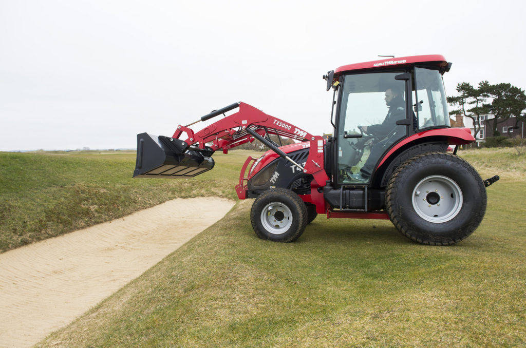 Littlestone Golf Club has bought a TYM T433 for aerating, overseeding and rough cutting its two 18-hole courses