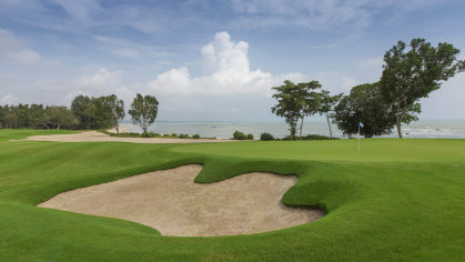 The Els Club Desaru Coast offers 45 holes of golf, and a host of resort attractions to make Desaru Coast Malaysia's first luxury resort destination