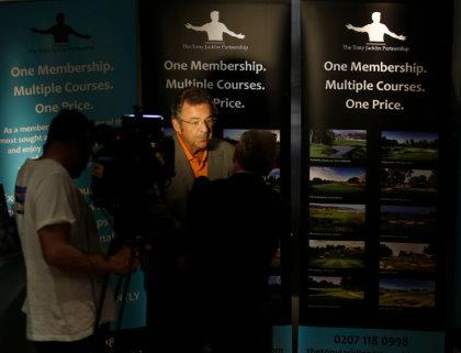 The Tony Jacklin Partnership launch