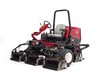 Brand new from Toro to the UK are the Reelmaster 3555-D (pictured) and 3575-D fairway mowers