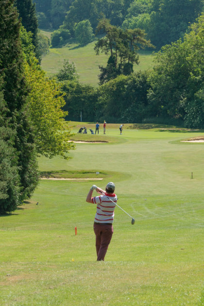 The Club nestles in the Knatts Valley Area of Outstanding Natural Beauty