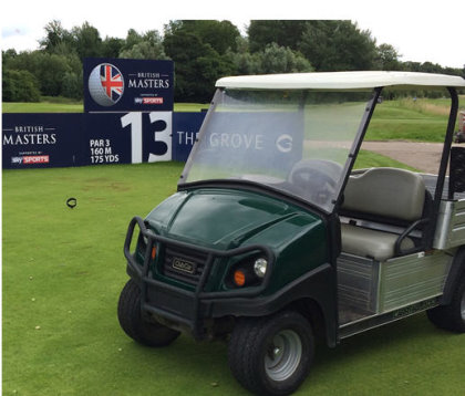 Club Car is helping drive business productivity by delivering fuel savings of more than 50% to The Grove's turf utility fleet