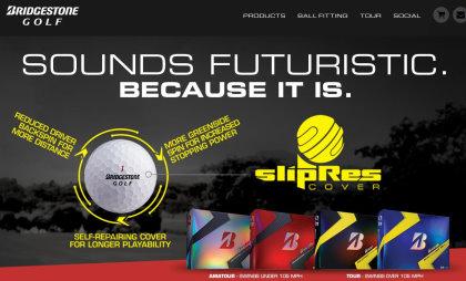 Bridgestone Golf website