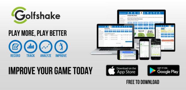 Golfshake App ad