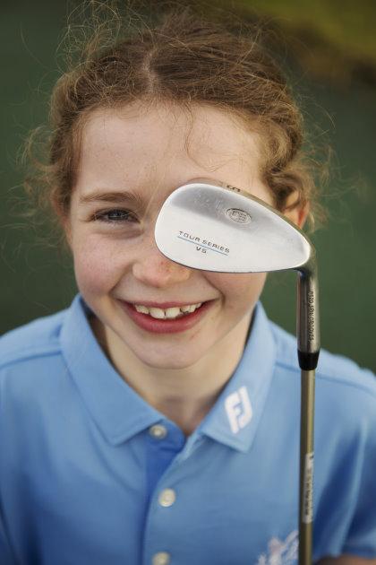 Gleneagles golf scholar, Grace Crawford (credit Simon Murphy)