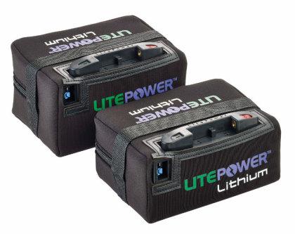 LitePower Lithium batteries