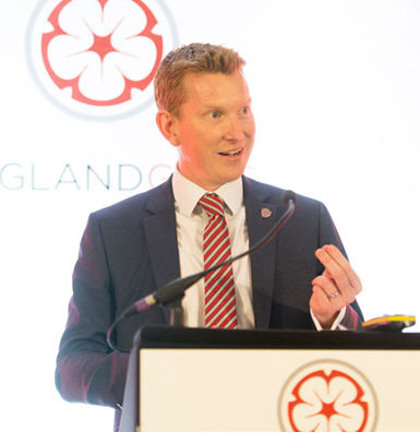 Nick Pink, Chief Executive of England Golf(© Leaderboard Photography)