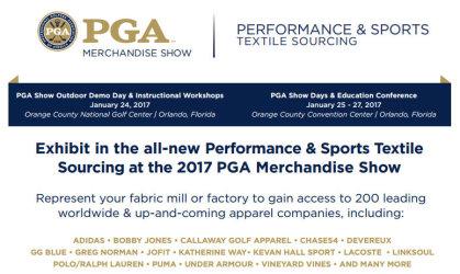 PGA Show Performance Textiles