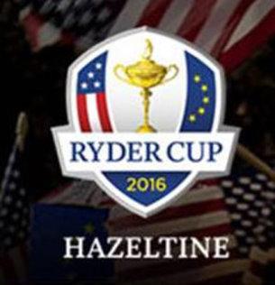 Ryder Cup Hazeltine 2016 logo