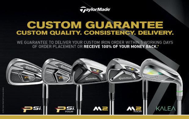 TaylorMade Custom Guarantee