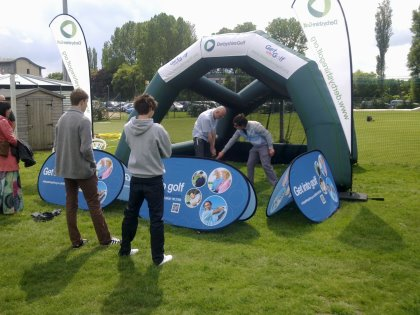 Derbyshire Golf Development's new community coach will help take the sport away from the traditional clubs and out into the local community